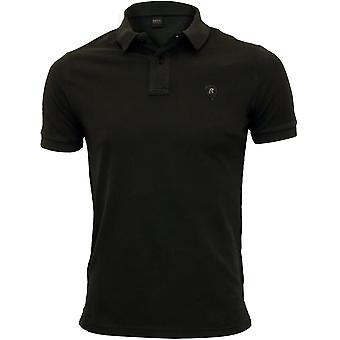Replay Classic Pique Polo Shirt, Black