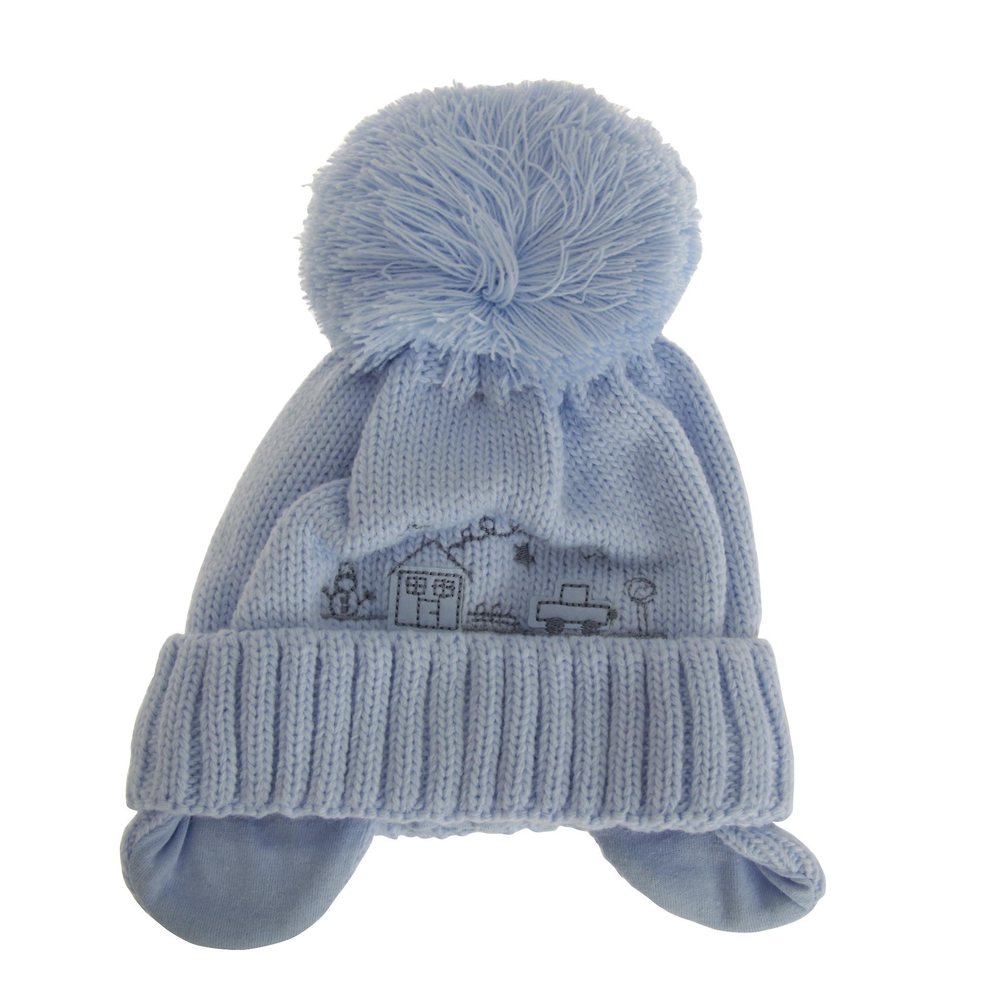 Baby Boys Winter Pudelmütze