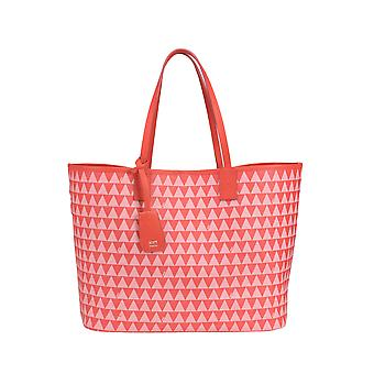 Protection women's MCGLBRE03158E red faux leather tote