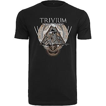 Merchcode shirt - Trivium triangular was black