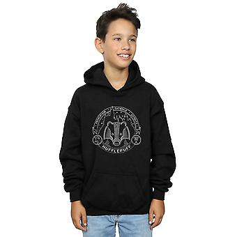 Harry Potter Boys Hufflepuff Seal Hoodie