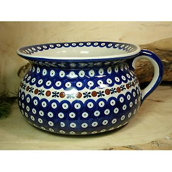 Chamber pot, 2nd choice, height 14 cm, size 27 x 23 cm, tradition 6 BSN 22521