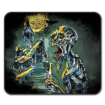 Graveyard Zombie Zombie  Non-Slip Mouse Mat Pad 24cm x 20cm | Wellcoda