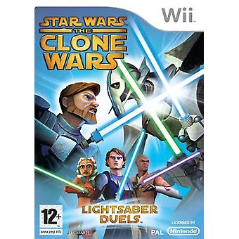 Star Wars The Clone Wars Lightsaber Duels (Wii)