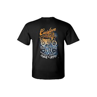Men's/Unisex T Shirt American Made Tradition Motorcycles Short Sleeve Tee