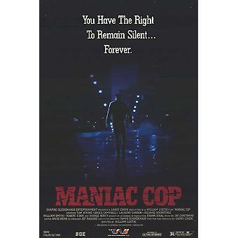 Poster do filme Maniac Cop (11 x 17)