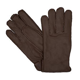 bugatti Herrenhandschuhe Handschuhe Ziegennappaleder Beige 6457