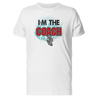 Im The Coach Tee Men's -Image by Shutterstock