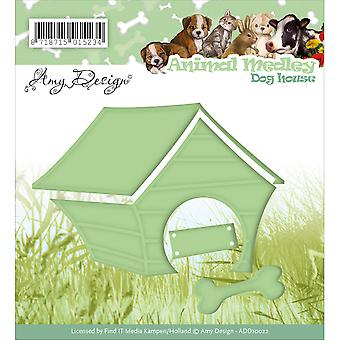 Find It Trading Amy Design Animal Medley Die-Dog House