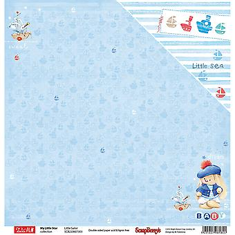Scrapberry's My Little Star Double-Sided Cardstock 12