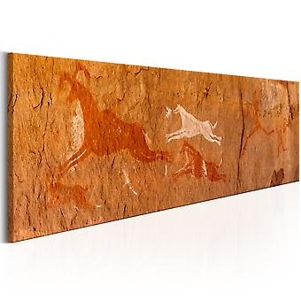 Canvas Print - Cave Paintings