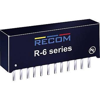 RECOM R-629.0P DC/DC converter (print) 9 Vdc 2 A 18 W No. of outputs: 1 x