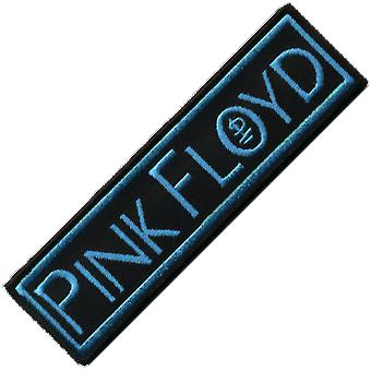 Pink Floyd Turquoise On Black Iron-On / Sew-On Patch (Sq Ls)