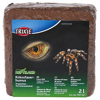 Trixie Floor Coco, Tropical Substrate, 2 L (Reptiles , Beds and Hammocks)