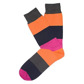 Tresanti Melange Mens Big Stripe Socks