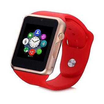 Stuff Certified ® Original A1 / W8 Smartwatch Watch OLED Smartphone Android iOS Pink