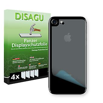 Apple iPhone 7 back screen protector - Disagu tank protector protector (deliberately smaller than the display, as this is arched)