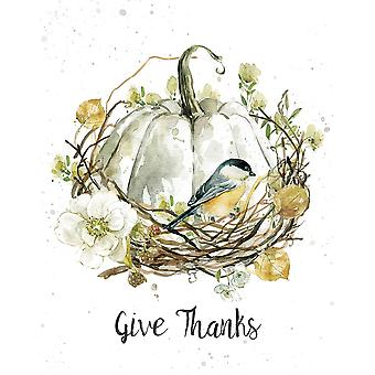 Give Thanks Poster Print by Carol Robinson