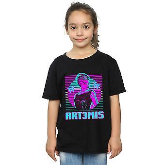 Ready Player One meisjes Neon Art3mis T-Shirt