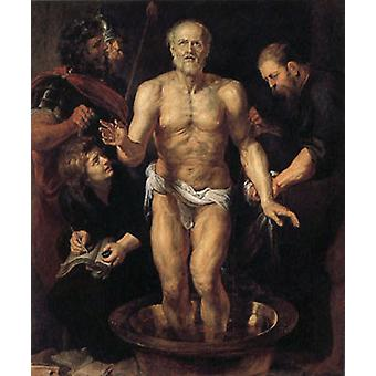 The Death of Seneca, Peter Paul Rubens, 60 x 50 cm