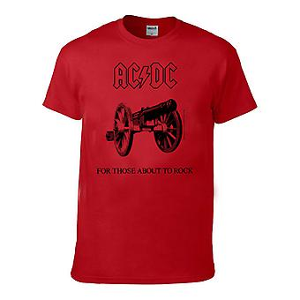 AC/DC For those about to rock KIDs, Red Kids t-shirt