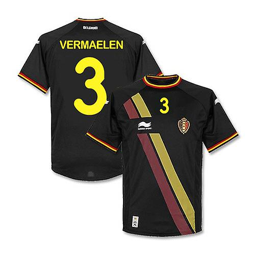 2014-15 Belgium World Cup Away Shirt (Vermaelen 3)