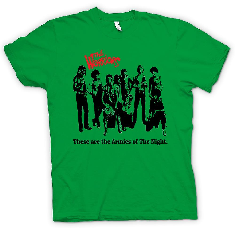 Hommes T-shirt - Les guerriers - New York - Gangs