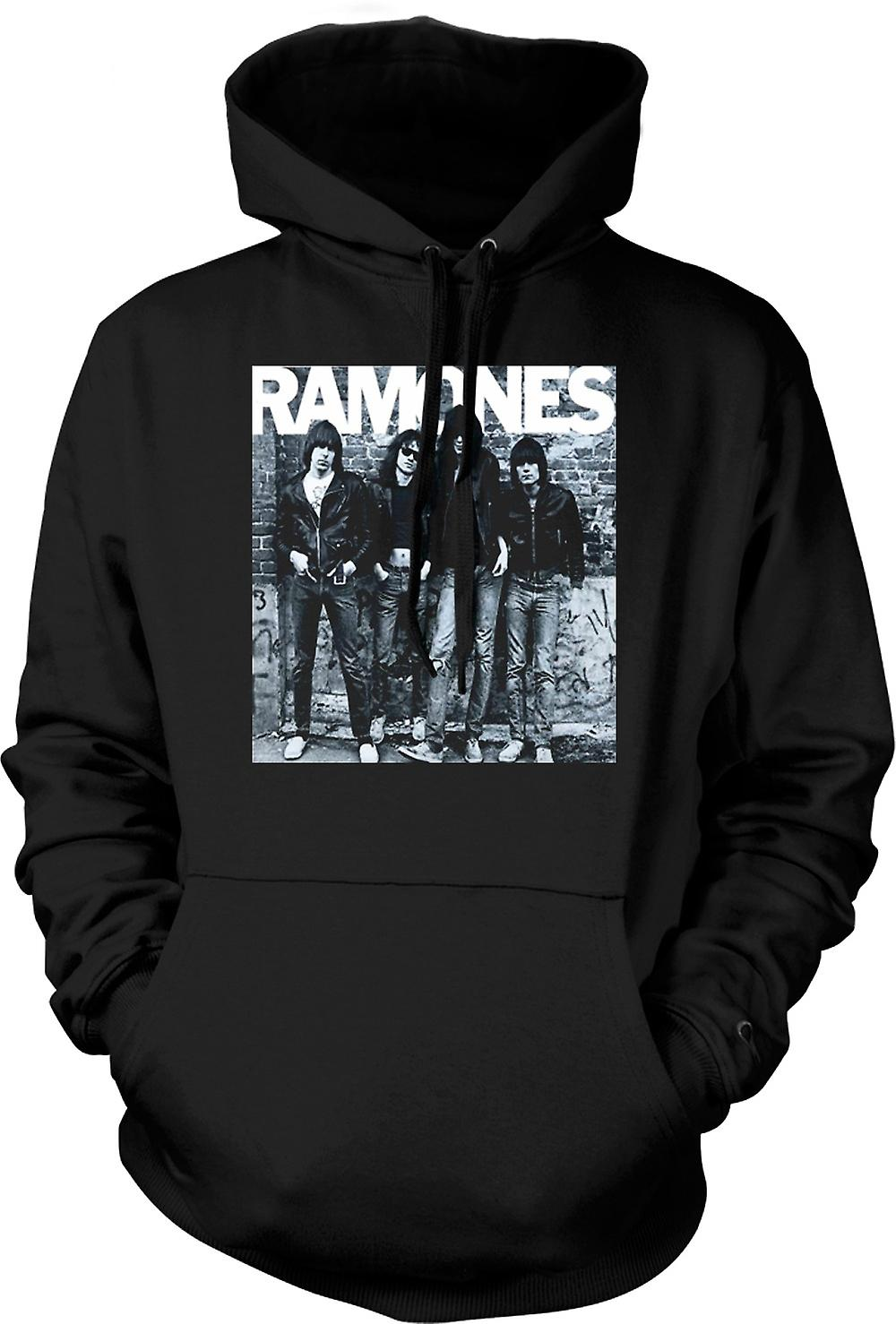 Mens Hoodie - Ramones - Punk Rock - Album Art