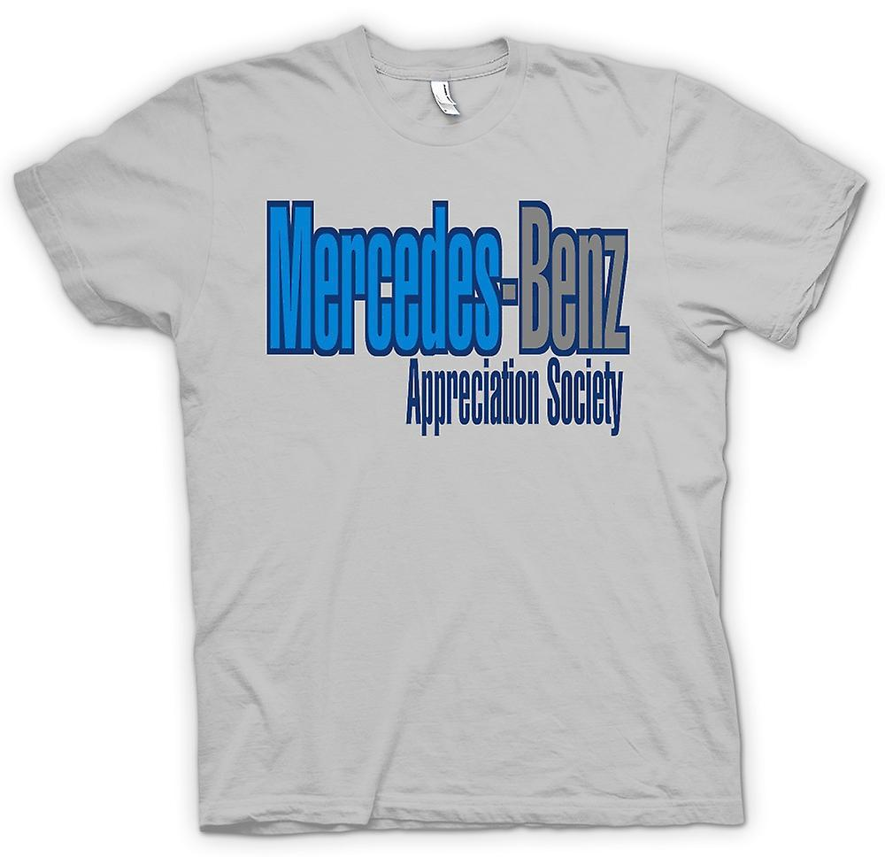 Herr T-shirt - Mercedes - Benz Appreciation Society