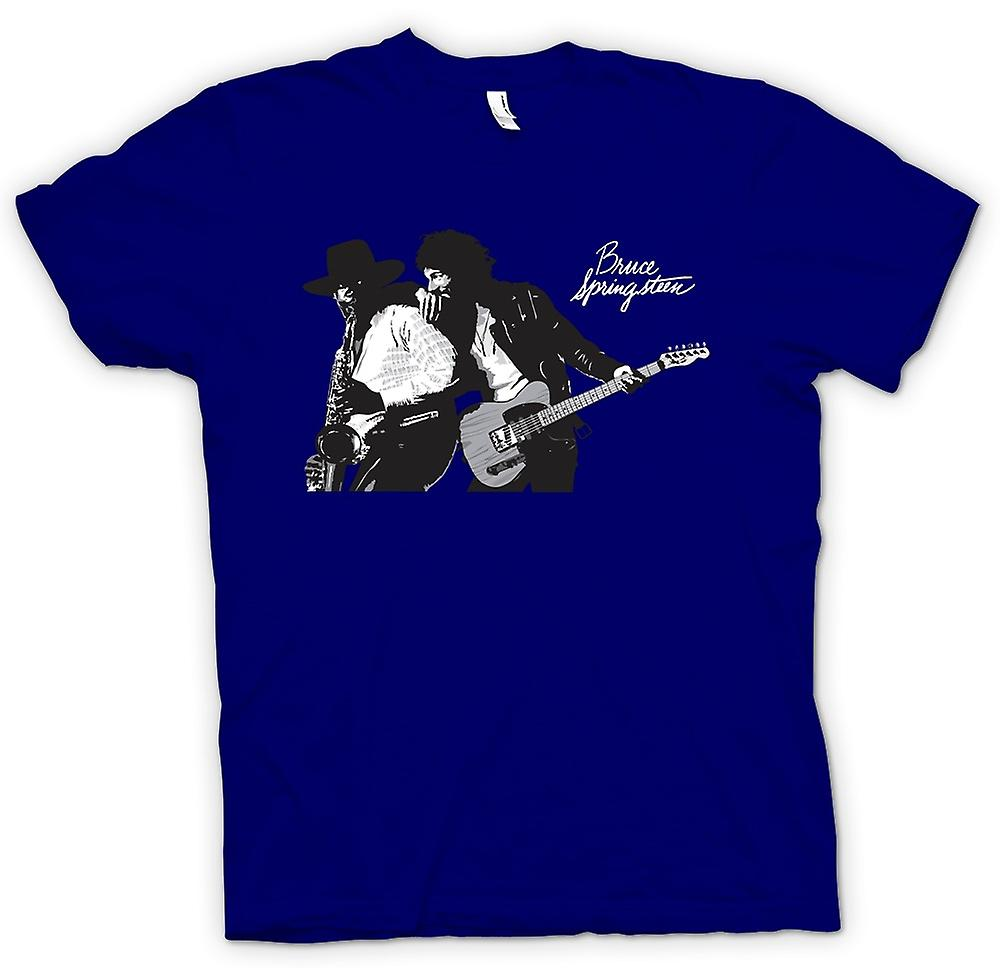 Herren T-Shirt - Bruce Springsteen Born To Run