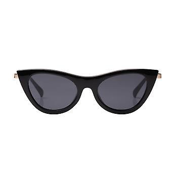 Le Specs Enchantress Black Cat Eye Sunglasses