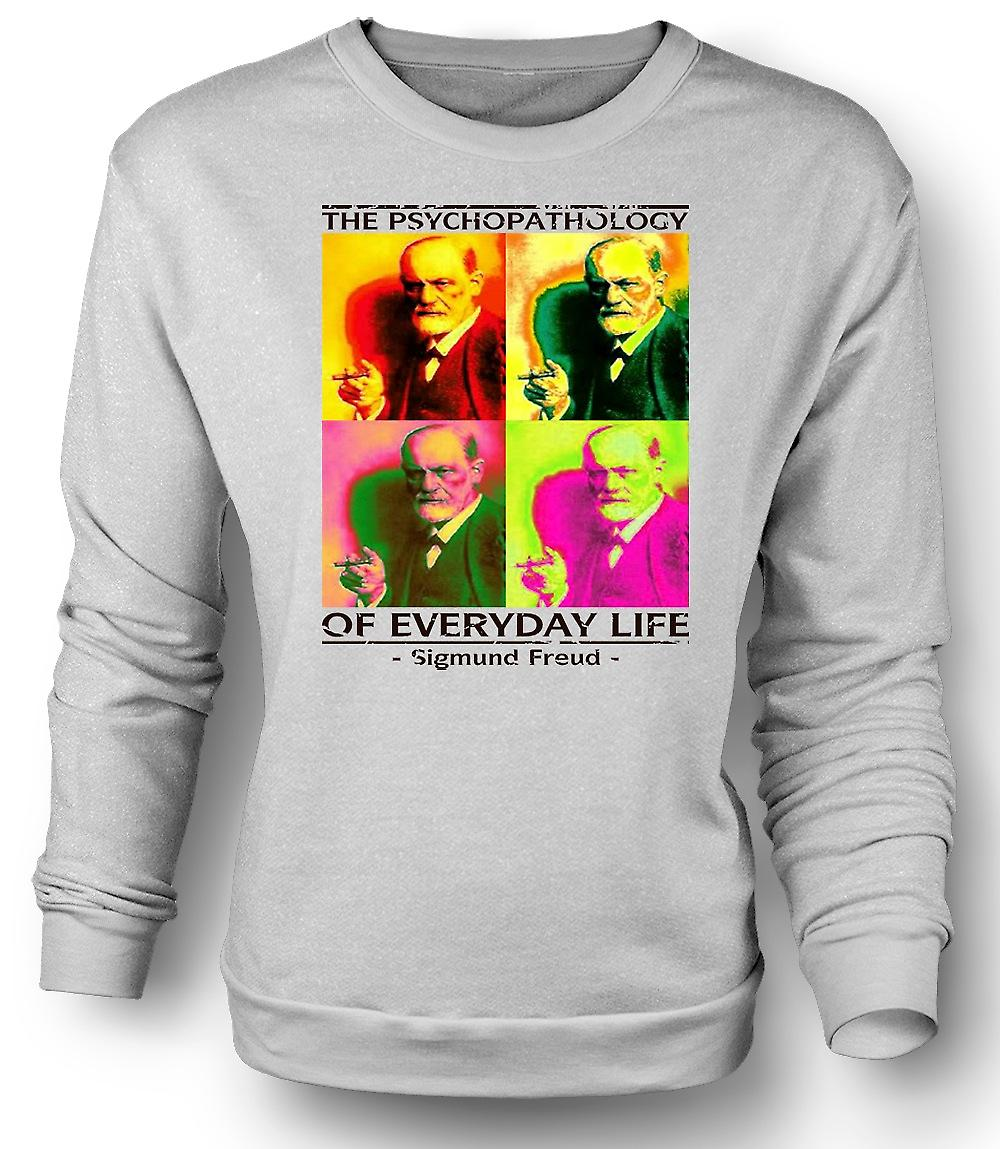 Mens Sweatshirt psychopathologie de Sigmund Freud - psychologie