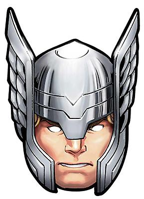 Thor van Marvel's The Avengers Single Card Party Face Mask