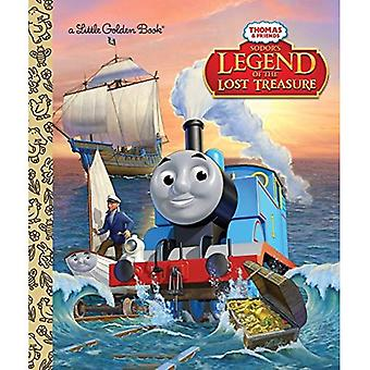 Ses legenden om den förlorade skatten (Thomas & vänner) (liten gyllene bok)
