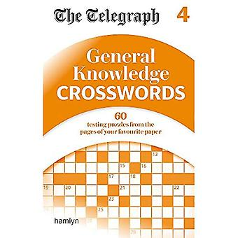 The Telegraph: General Knowledge Crosswords 4 - The Telegraph Puzzle Books