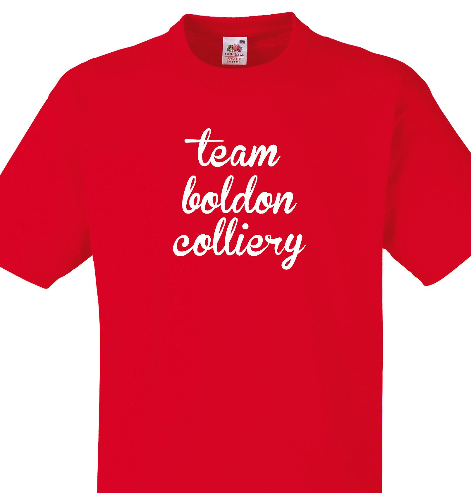Team Boldon colliery Red T shirt