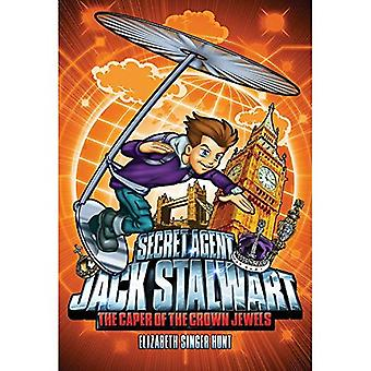 The Caper of the Crown Jewels: England (Secret Agent Jack Stalwart)