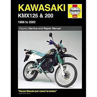Kawasaki KMX 125 and 200 Service and Repair Manual: 1986-2002 (Haynes Owners Workshop Manuals)