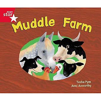 Muddle Farm: Phonic Opportunity Red Level (Rigby Star Guided)