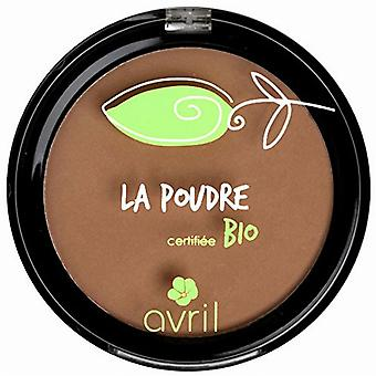 Avril Cosmetics Organic Pressed Powder Compact Foundation - Cuivre