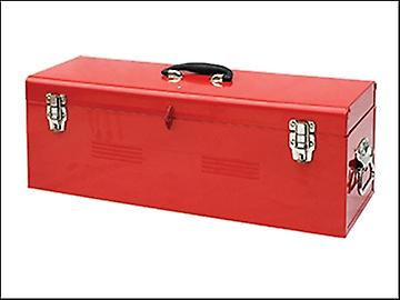 Faithfull Metal Heavy-Duty Tool Box & Tote Tray 67cm