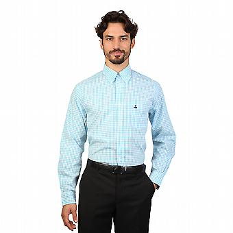 Brooks Brothers Shirts 100047259 Men Blue