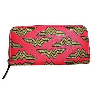 DC Comics Wonder Woman Gold Luxe Clutch Purse