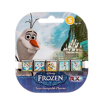 Disney Frozen Summertime Olaf 5-Charm Bracelet (Small)