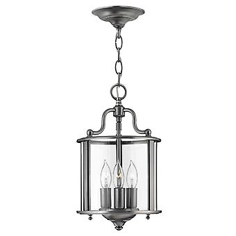 Gentry Small Pendant Pewter