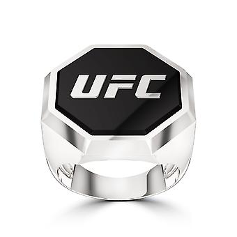 Ufc - Ufc Octagon Enamel Ring In Sterling Silver