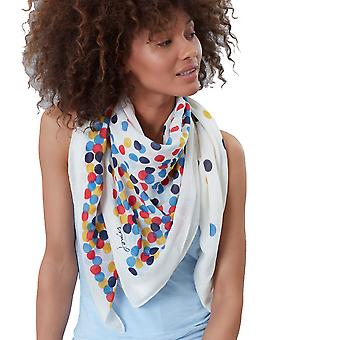 Joules Womens Atmore Lightweight Cotton Fashion Scarf