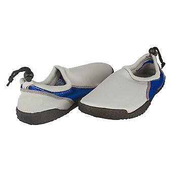 Zack & Evan Mens Neoprene and Mesh Water Beach Shoe With Strap