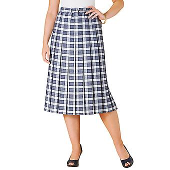 Ladies Womens Pleated Skirt 27 Inches