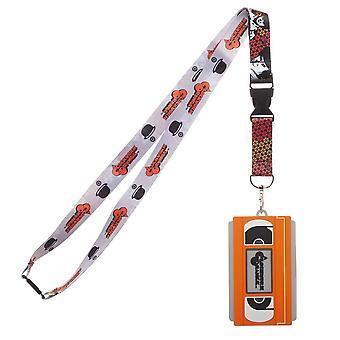 Lanyard - A Clockwork Orange - w/molded VHS ID Holder New la76p5clo